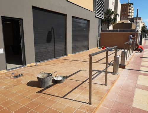 Avance obras estanco Campello – Alicante